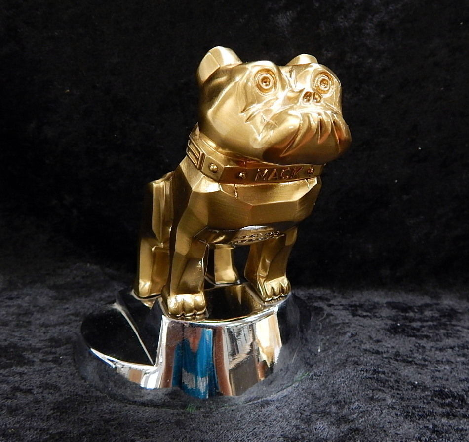 Mack Truck Bulldog Hood Ornament Paper Weight Curiosity Consignment