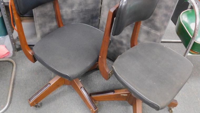 The chair pictured on the left is available.