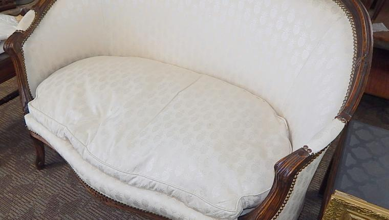 Antique Victorian Settee couch