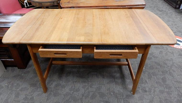 Skovby Denmark Mid Century Danish Teak Desk Work Table