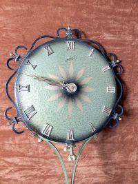 Vintage German Schatz Elexacta Queen Anne Wall Clock