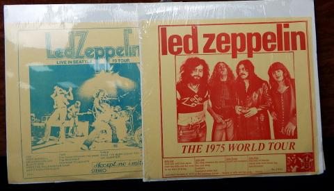 Led Zeppelin Lp Live In Seattle 1973 75 Tour Records