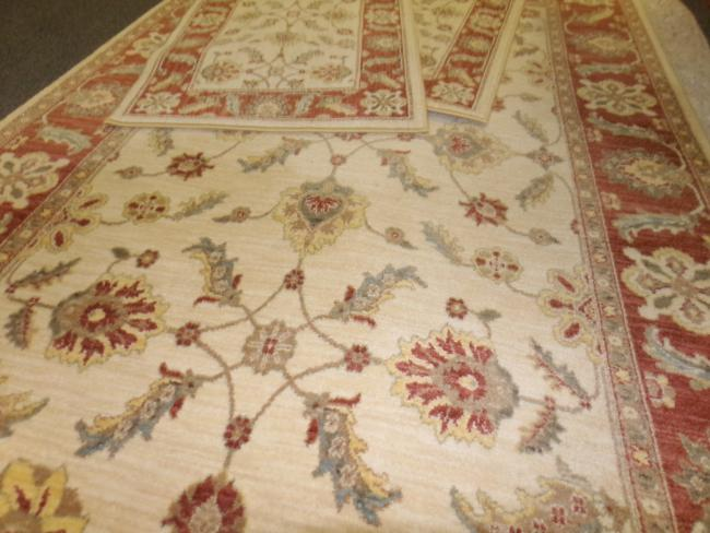 3pc Karastan New Zealand Wool Oriental Area Rug Sedona