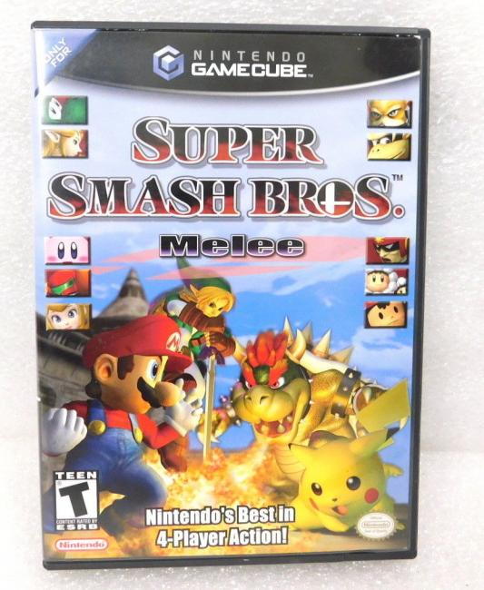 2001 Nintendo Gamecube Super Smash Bros Melee Game