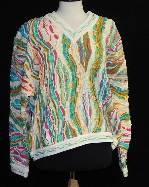 Vintage Mens Coogi Sweater Curiosity Consignment