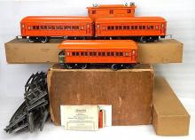 1927 american flyer no 1423 4653 engine passenger train set standard wide gauge