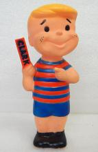 Clark Candy Bar 1960s Vinyl Boy Doll Squeeze Promo Toy