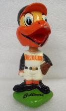 Vintage 1962 Baltimore Orioles bird baseball bobblehead figure
