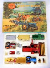 1962 Corgi Toys Farming Tractor Models Major Play Gift Set