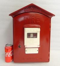 Vintage Gamewell FIRE alarm master call wall box