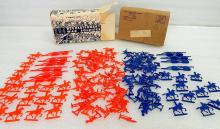 Vintage Plastic Revolutionary War Soldiers Playset Comic Book Mail