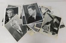 1960s Political Press Photo Photograph Lot JFK