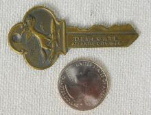 National Democratic Convention Delegate Brass Key 1964