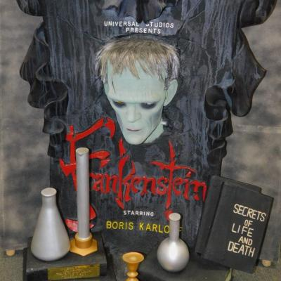 Universal Pictures Frankenstein Movie monster Boris Karloff tribute