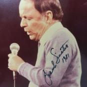 Frank Sinatra hand signed autographed photo 1981