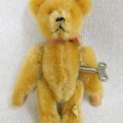 German US Zone Wind Up Schuco Rolly Clockwork Mohair Teddy Bear